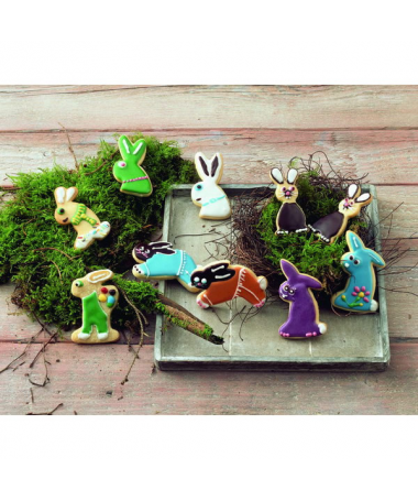 Kształtki Easter Bunnies