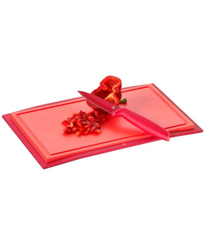 WMF - deska do krojenia 32x20 cm czerwona Touch