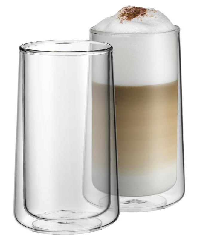WMF - zestaw 2cz. szklanek do latte macchiato