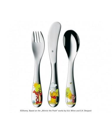 WMF - zestaw 3cz. sztućów dla dzieci Kubuś Puchatek