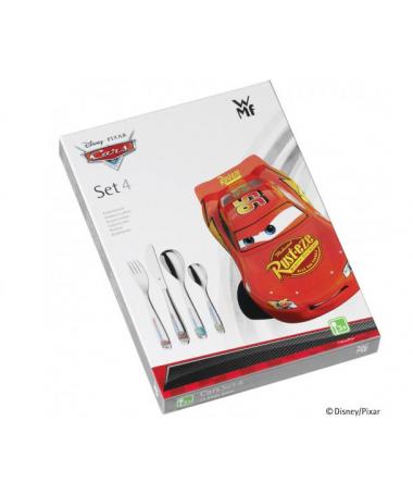 WMF - zestaw 4cz. sztućców dla dzieci Cars