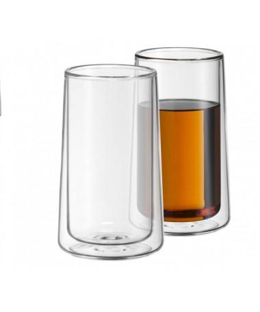 WMF - zestaw 2cz. szklanek z podwójnymi ściankami TeaTime