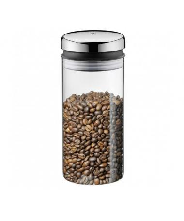 WMF - pojemnik szklany z metalową pokrywą 1,0l Depot