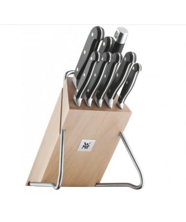 WMF - 9cz. zestaw noży w bloku Spitzenklasse Plus