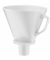 Filtr porcelanowy do zaparzania kawy