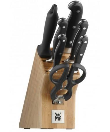 WMF - 8cz. zestaw noży w bloku Spitzenklasse