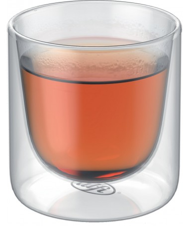 Zestaw 2cz. szklanek 190ml z podwójnymi ściankami