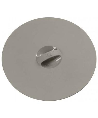 Pokrywa szara silkonowa 18,5 cm