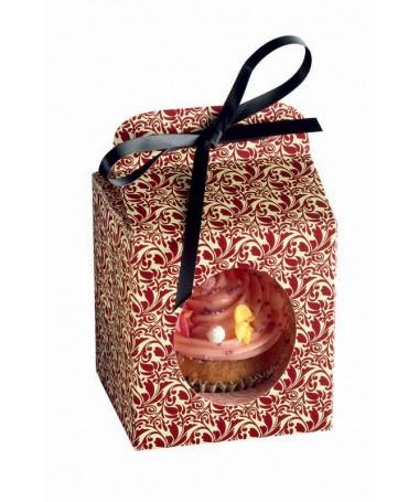 Opakowanie prezentowe na muffinkę Flora