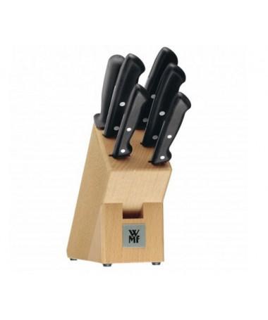 WMF - zestaw 7cz. noży w bloku Classic Line
