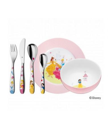 WMF - zestaw 6cz. sztućców dla dzieci Disney Princess