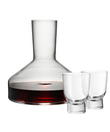 WMF - karafka Taverno z dwoma szklankami