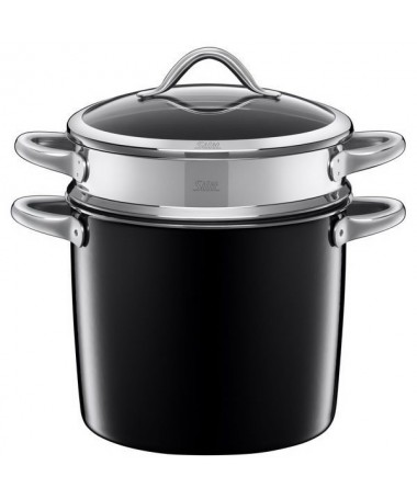 Garnek do makaronu 8,5l Vitaliano Nero