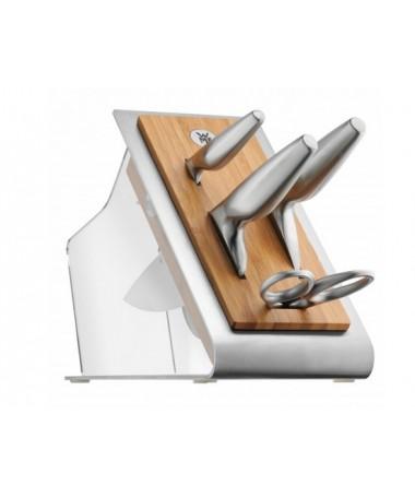 WMF - 5cz. zestaw noży w bloku Chef's Edition