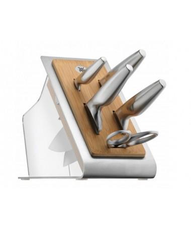 WMF - 6cz. zestaw noży w bloku Chef's Edition
