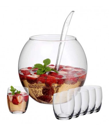 WMF - szklana waza do ponczu