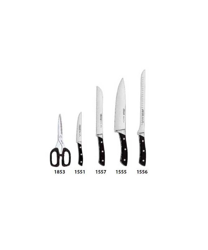 Zestaw 5cz. noży w bloku Terranova