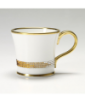 Kubek do kawy z kryształkami Swarovskiego (Topaz)