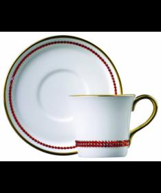 Filiżanka do espresso z kryształkami Swarovskiego (Hiacinth)