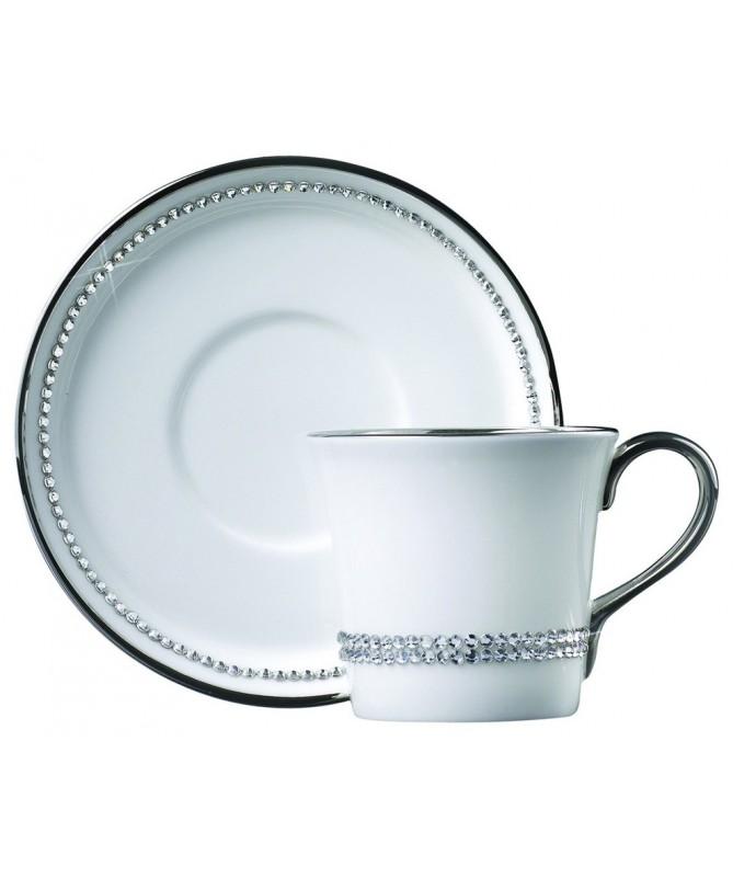 Filiżanka do espresso z kryształkami Swarovskiego (Crystal)
