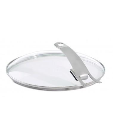Pokrywa szklana zaczepiana 28cm Premium